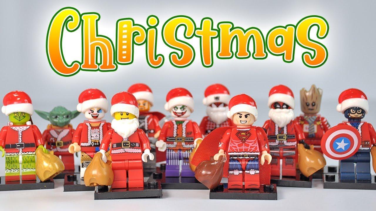 Lego Custom Santa Thor Christmas Edition Hero Movie Minifigure
