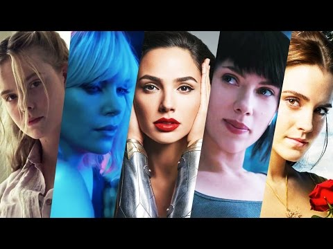 Top Female Lead Movies 2017 Trailer Compilation