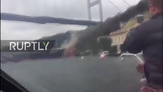 Video Turkey: Tanker slams into waterfront mansion on the Bosphorus download MP3, 3GP, MP4, WEBM, AVI, FLV Juni 2018