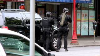 Vancouver Police Takedown Chinatown Robbery Suspect