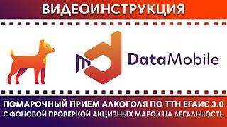DataMobile: Урок №15. Помарочный прием алкоголя по ТТН ЕГАИС 3.0