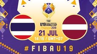 LIVE - Thailand v Latvia - FIBA U19 Women's Basketball World Cup 2019