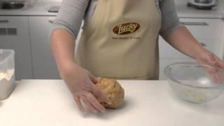 Lucky Kitchen Christmas - Almond & Orange Biscotti