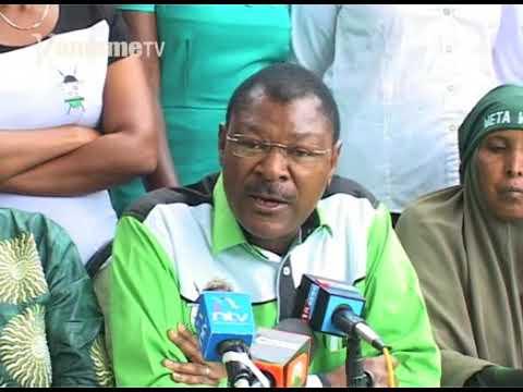 Seneta Moses Wetangula kuregana na riitana ria gutabanio gwa kura ya mawoni