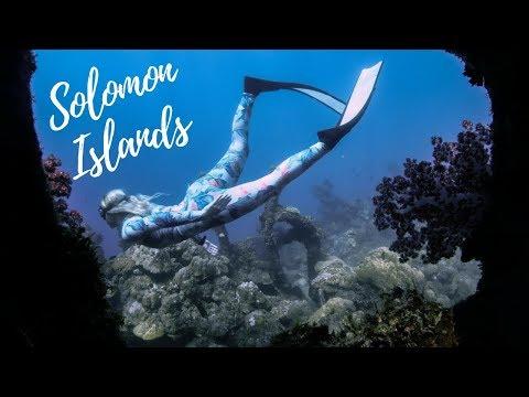 Freediving Solomon Islands | Bonegi I Wreck | GoPro