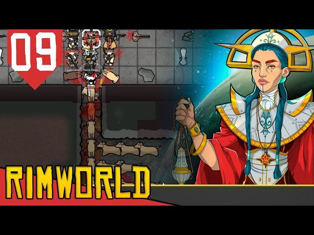 Psylink Nível 6 MÁXIMO! - Rimworld Socialismo Transhumanista #09 [Gameplay PT-BR]