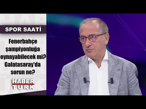 Spor Saati - 26 Ağustos 2019 (Fenerbahçe şampiyonluğa oynayabilecek mi? Galatasa