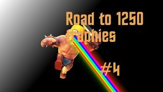 Clash of Clans - Best Strategy to get 1250 Trophies Part 4 - Let's Play Clash of Clans #9
