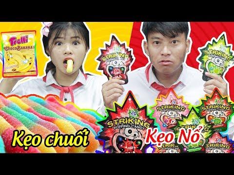 Lớp Học Nhí Nhố Kẹo Siêu Chuối và Kẹo Nổ Cái Nào Ngon Hơn? - Búp Bê Chibi