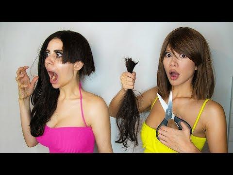 I LET MY GIRLFRIEND CUT MY HAIR Challenge