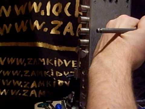 Взлом двери без повреждений (отмычки) Эльбор Рубин Замок Эльбор Рубин крючками, порядка 4 минут