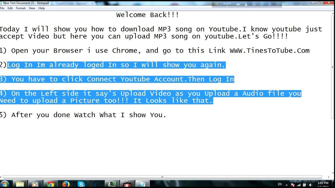 How To Upload Audio File In Youtube