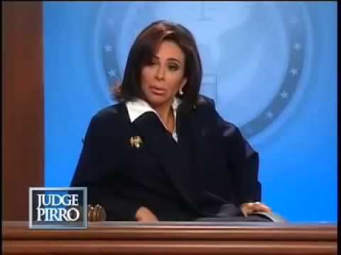 Judge Pirro You Are A Despicable Human Being YouTube