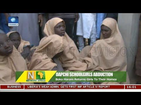 Boko Haram Returns Dapchi Schoolgirls |Network Africa|