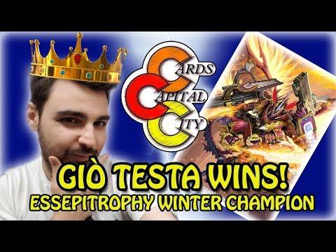 Cardfight Vanguard - ESSEPITROPHY Winter Champion - Giò Testa Wins!