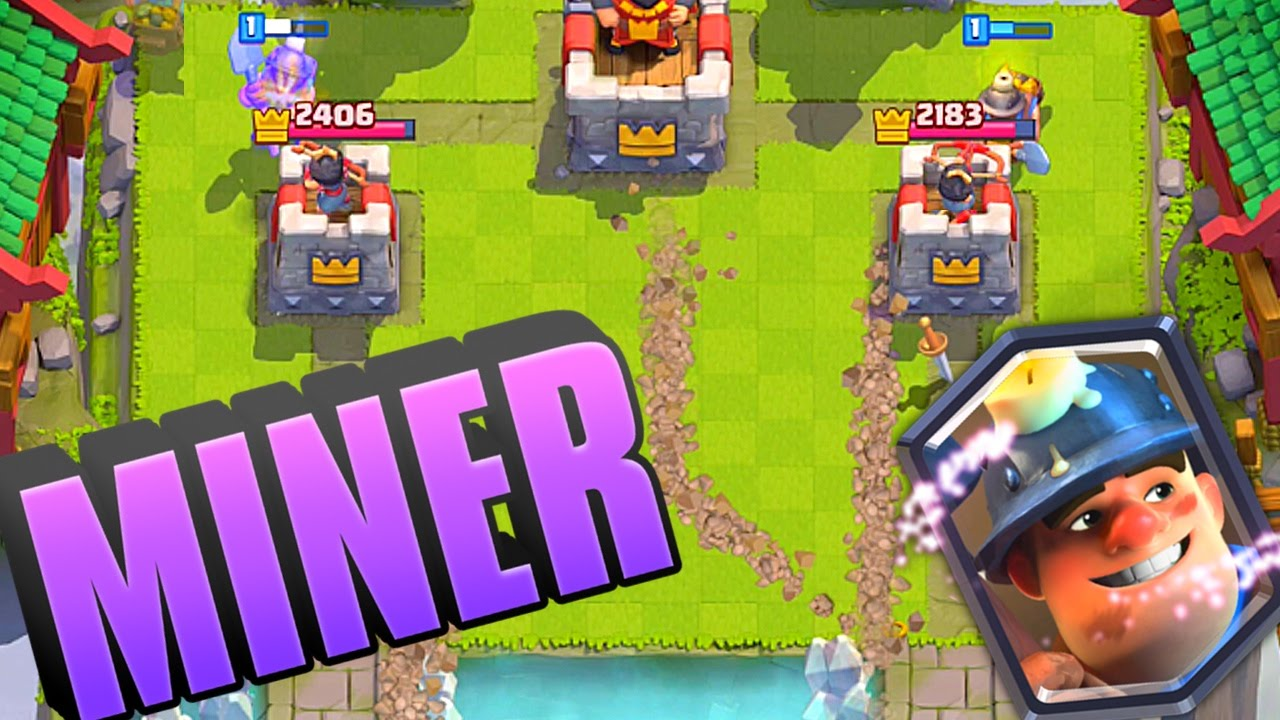 Clash Royale Miner Legendary First Look Gameplay