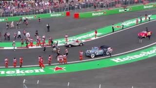 Desfile pilotos F1 México 2016