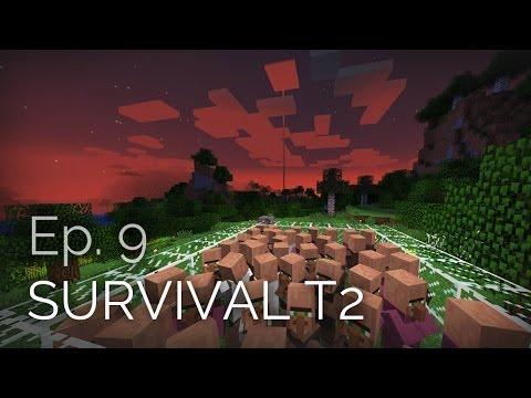 Minecraft Survival T2 Ep. 9 - Mision: Aldeano perfecto