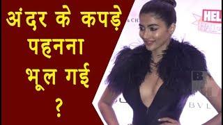 Pooja Hegde अंदर के कपड़े पहनना भूल गई ?..