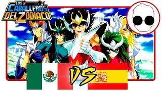Doblaje Latino VS Español  - Soldier Dream / Saint Seiya Opening