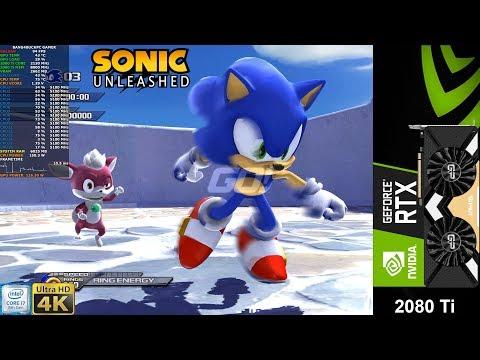 Sonic Unleashed 4K RPCS3 Emulator   RTX 2080 Ti   I9 9900K 5.1GHz