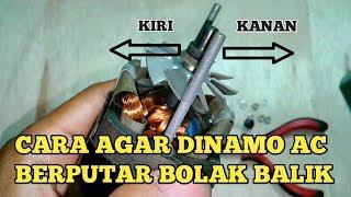 Download Video Cara Agar Motor/Dinamo AC Berputar Bolak Balik MP3 3GP MP4