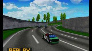 "Daytona USA Deluxe - Hornet ""Daytona"" Unlockable car on Sea-side street Galaxy [Replay]"