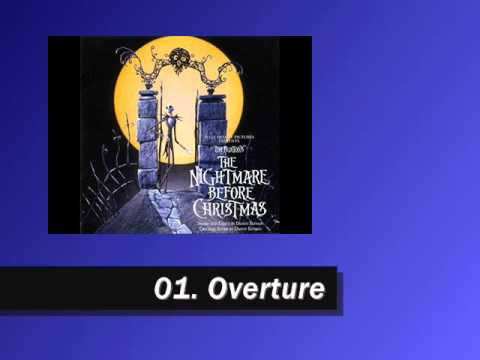 Nightmare Before Christmas Soundtrack - 01. Overture - YouTube