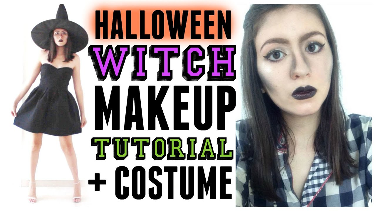 easy halloween witch makeup tutorial costume