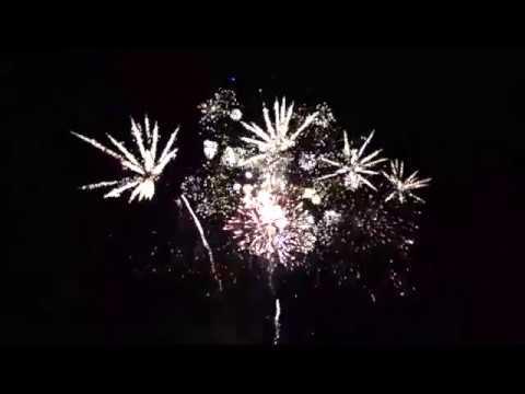 Woodhull raceway fireworks, June 24 2017