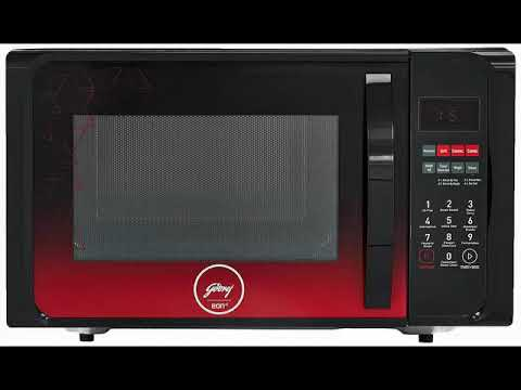 Best Godrej 23 L Convection Microwave Oven (GME 523 CF1 RM Plain Elec, Black)