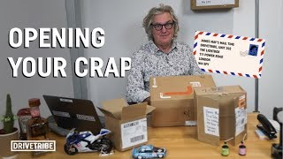 James May opens some weird fan mail | Mail Time Ep.2