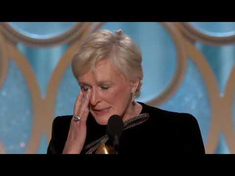 Glenn Close discurso en los Golden Globes (subtitulado)