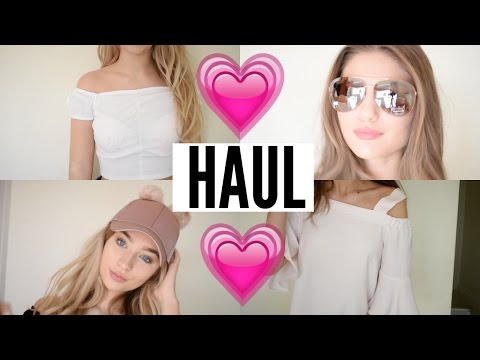 RIVER ISLAND CLOTHING HAUL♡ Grace and Grace | Ad