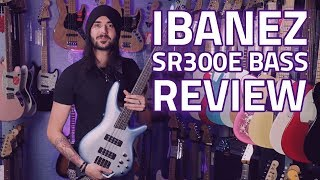 Ibanez SR300E Bass Guitar Demo & Review