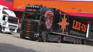 "Scania V8 Streamline - LEX-US Logistik GmbH - ""One look could kill"" [HD]"