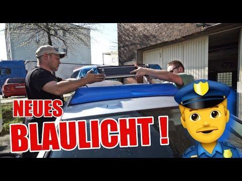 🚓🔥 Streifenwagen bekommt wieder BLAULICHT ! 🚓 👮🏼♀️  ItsMarvin