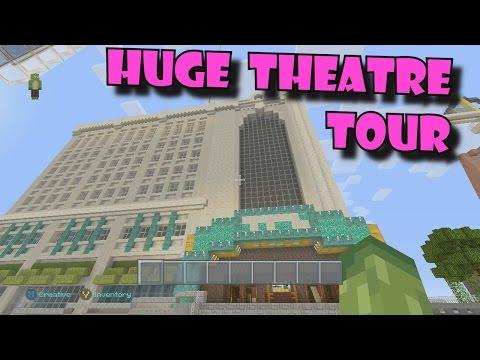 Minecraft HUGE THEATRE TOUR   Midland Theatre