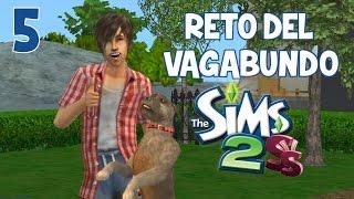 RETO DEL VAGABUNDO | LOS SIMS 2 | Tenemos mascota!! | Ep. 5 | 2.0