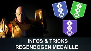 Destiny:  Regenbogen-Medaillen / Zavala Medaille Beutezug Tipps & Tricks