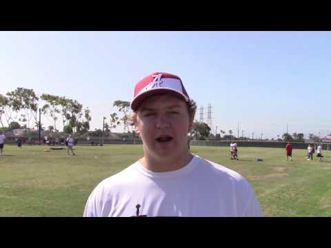 Tommy Brown Alabama Commit Interview