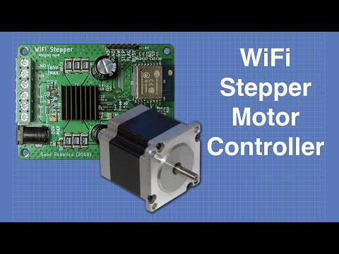 WiFi Stepper Motor Controller | DroneBot Workshop