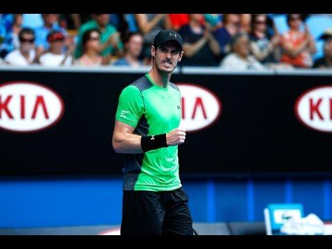 Andy Murray v Marinko Matosevic highlights (2R) - Australian Open 2015