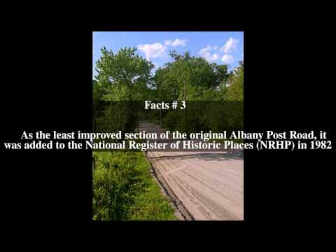 Old Albany Post Road Top # 6 Facts