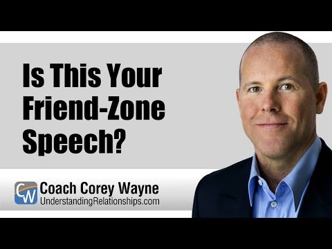 Is This Your Friend Zone Speech?