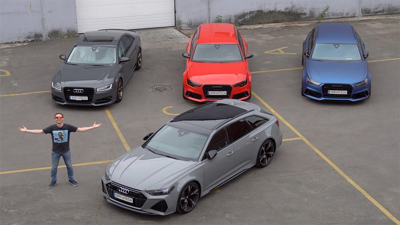 2020 Audi RS6 C8 - новая эпоха VAG! Космический потенциал!