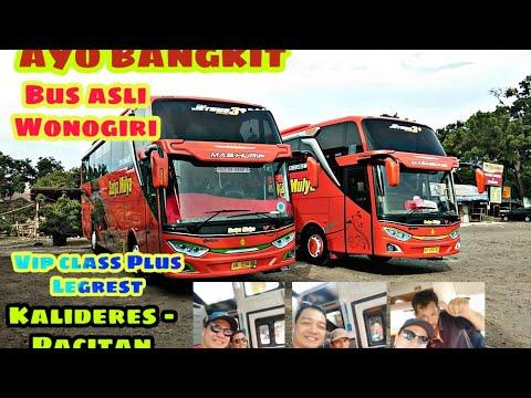Trip Perjalanan Bus Sedya Mulya Kalideres-Pacitan Kelas VIP!! Bus Asli Wonogiri Mulai Bangkit!!