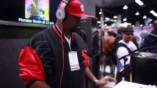 DJ Artistik - Monster cable @ The Namm Show