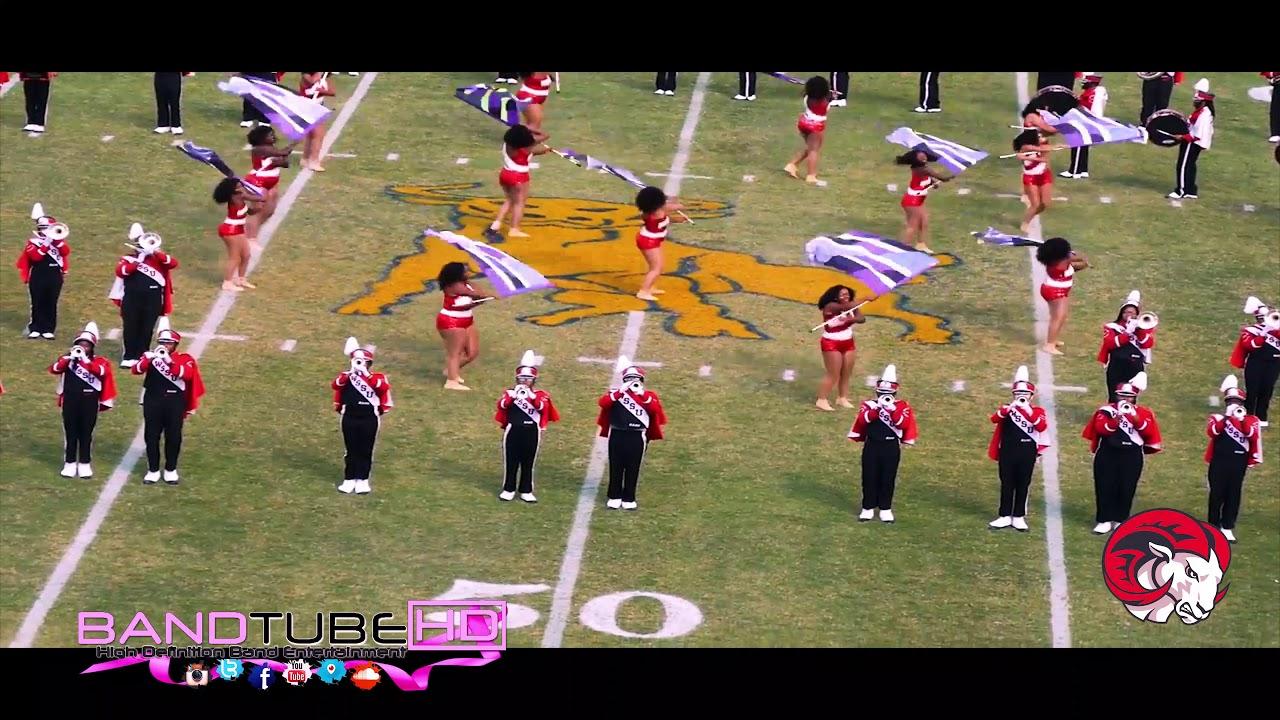 Winston Salem State University Red Sea Of Sound Halftime Vs