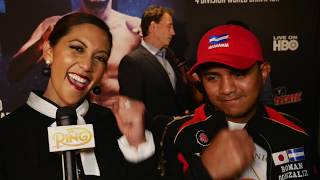 Chocolatito doesn't like hurting people but he's going for the KO vs. Pedro Guevara
